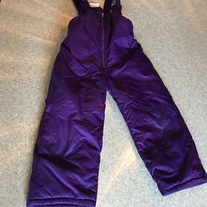2 pairs of 3t snow pants